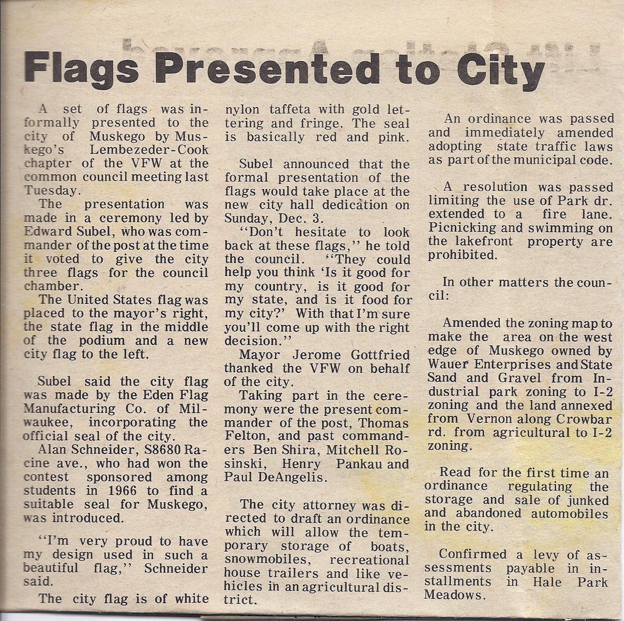City Flag article The Hub October 5, 1972.jpeg