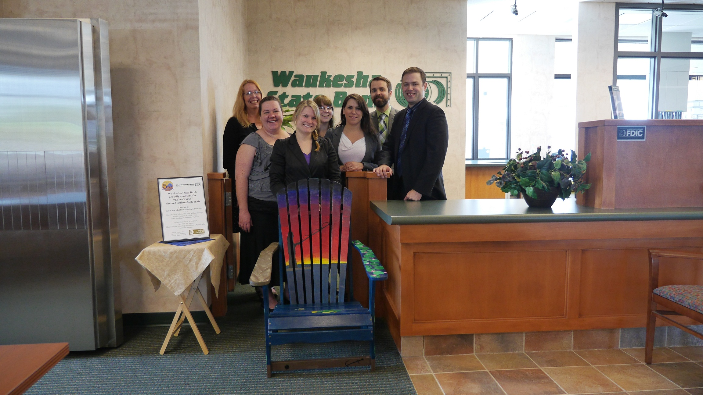 Waukesha State Bank Lakes Parks chair.jpg